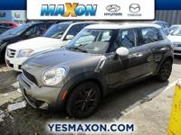 Check out this gently-used 2011 MINI Cooper Countryman