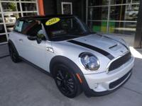 S trim. CARFAX 1-Owner, MINI Certified, ONLY 23,649