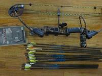 2011 Mission Menace compound bow- includes whisker