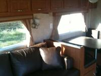 2011 33 FOOT MONTE CARLO SC TRAVEL TRAILER. 2 ELECTRIC