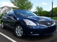 2011 Nissan Altima 2.5 S, 4dr sedan, blue with black