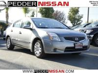 This 2011 Nissan Sentra 4dr Sdn I4 CVT 2.0 S is