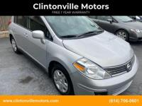 2011 Nissan Versa 43K miles is a well maintained and