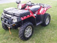 2011 POLARIS SPORTSMAN 850 XP  EFI 4X4 WITH POWER