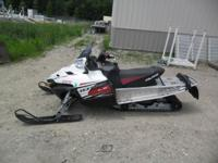 Up for auction: 2011 Polaris Turbo IQ LX Snowmobile.