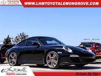 This outstanding example of a 2011 Porsche 911 Carrera
