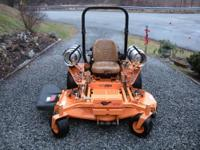 "2011 Scag 61"" Turf Tiger Dual Fuel for sale. Basically"