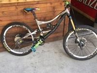 2011 specialized sx trail med. built up last summer