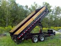 2011 Sure-Trac dump trailer. Used 3 times. Approx 100