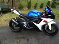 I have an almost brand new 2011 gsxr 750 for sale with