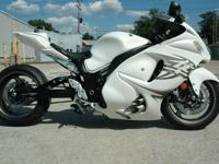 One owner 2011 Suzuki Hayabusa utilized for development
