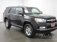 4Runner Limited V6, Toyota Certified, 4WD, Leather Seat
