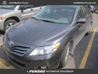 XLE trim. CARFAX 1-Owner, Toyota Certified, In Good