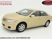 Camry LE, Toyota Certified, Leather, CLEAN CARFAX! ONE