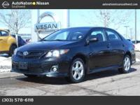 This 2011 Toyota Corolla S is offered to you for sale