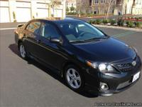 2011 Toyota Corolla S. GREAT condition! Bluetooth