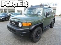 That's right, we have this 2011 FJ Cruiser Trail Teams