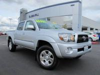 One Owner & Low Miles Toyota Tacoma Double Cab 4WD!