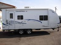 2012-model 2265EX Chalet Takena Travel Trailer with 1