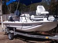 Stock Number: 722675. 2012 Carolina Skiff JV15 w/center