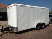 This trailer was used once to haul furniture from