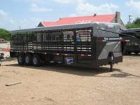 NEW 2012 Gooseneck Brand 32' Cattle Trailer NEW 2002