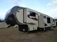 2012 38 FT RUSHMORE 5 SLIDE  REAR BEDROOM / CENTER