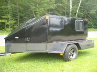 5 ' x 8' Camper LOADED WITH OPTIONS front cooler front
