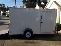 2012 Covered Wagon 6?X12? Enclosed Trailer Fully