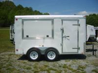 This is a 2012 6x12 Concession Trailer, Weight