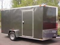 Located in windsor,Ct. 7x12 Enclosed cargo Trailer.