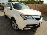 Extra Clean, CARFAX 1-Owner. MDX trim, Aspen White