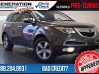 4D Sport Utility, AWD, Ebony Leather, and 2012 Acura