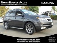 Advance Package!! SH-AWD! Clean Carfax and Local