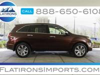 Flatirons Imports is offering this 2012 Acura MDX 3.7L