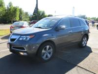The performance tuned suspension of this Acura MDX