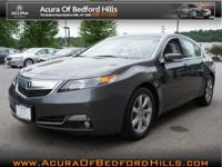 This dk. gray 2012 Acura TL TECH may be simply the