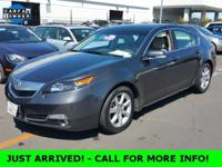 NICE!.... ONE-OWNER!.... ACURA CERTIFIED PRE-OWNED