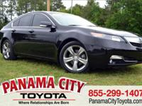 Black 2012 Acura TL 3.5 Advance Package FWD 6-Speed