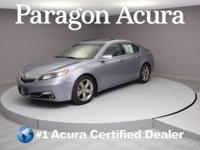 New Price! Certified. 2012 Acura TL 3.5 Priced below