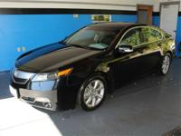 Black 2012 Acura TL 3.5 w/Technology Package FWD