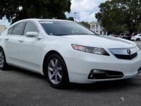 Options:  2012 Acura Tl Tech Auto|White/Parchment|V6
