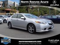 Beautiful 2012 Acura TSX 2.4 Special Edition, Silver