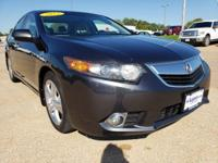 Boasts 31 Highway MPG and 22 City MPG! This Acura TSX