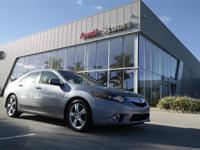 Silver Moon 2012 Acura TSX 2.4 FWD 5-Speed Automatic