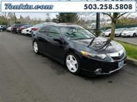 WOW!!! Check out this. 2012 Acura TSX 2.4 Black 2.4L I4