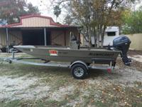 2012 Alumacraft MV1650AW. 2012 Alumacraft MV1650AW in