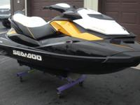 ,,,,,,,2012 Sea Doo GTR 215. This unit has been garage