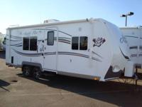 2012 Arctic Fox 22H 4 Season travel trailer loaded with