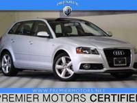 Options:  2012 Audi A3 2.0T Prem W/Pzev|Silver|2.0L 4